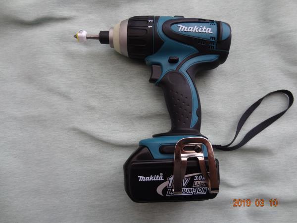 マキタ (makita) 18V 充電式 4モードインパクト ドライバー TP140D 色 青 未使用に近い M-007_画像3