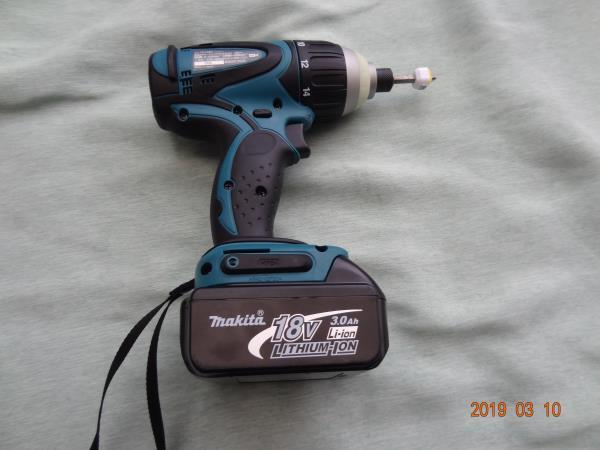 マキタ (makita) 18V 充電式 4モードインパクト ドライバー TP140D 色 青 未使用に近い M-007_画像4