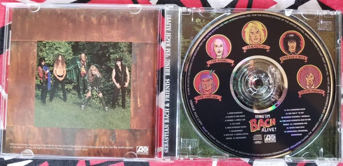セバスチャンバック / ブリング・エム・バック・アライヴ (国内盤)CD_画像2