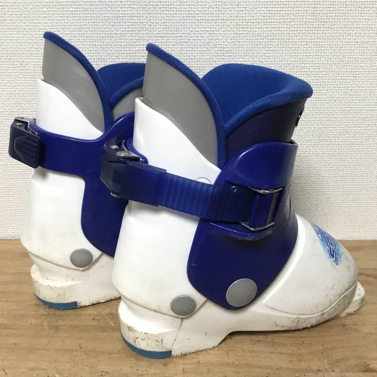 ジュニアスキーセット◆ケース付 KAZAMA 90cm ブーツ 17-18cm ポール 70cm キッズ 子供 ジュニア _画像9