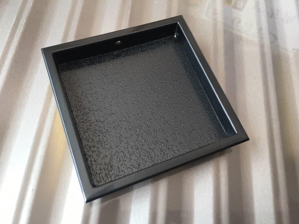 襖 引き手 真鍮 四方角 2個セット ツキエス S-631 赤銅 嵐底 未使用_画像2