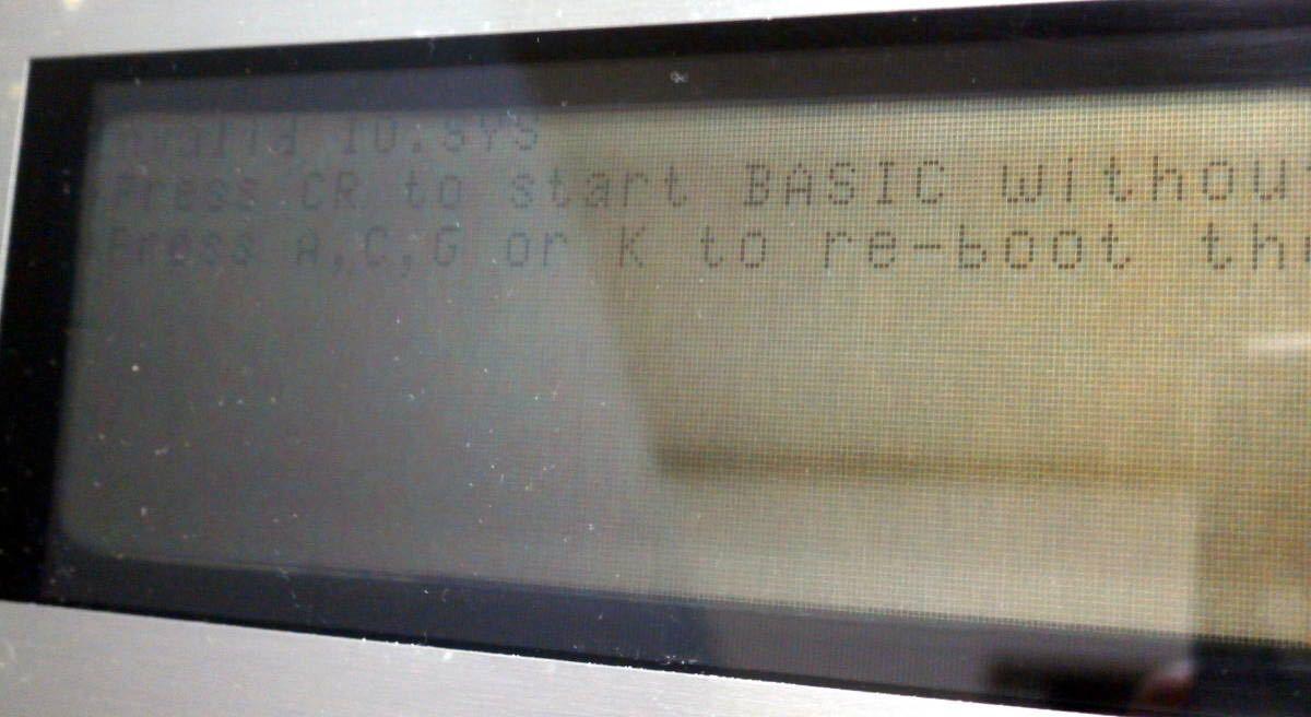 SHARP PC-5000 プリンタCE-510P・BASIC-ROM・増設メモリ・漢字ROM・ワープロソフト・修理改造・互換ACアダプタ・書籍・カタログ付・液晶難_画像8