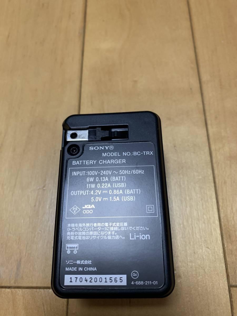 SONY Cyber-shot RX100V DSC-RX100M5 中古 美品 SONY純正 革ケース、バッテリーチャージャー Transcend32GBのSDカード 付属_画像5