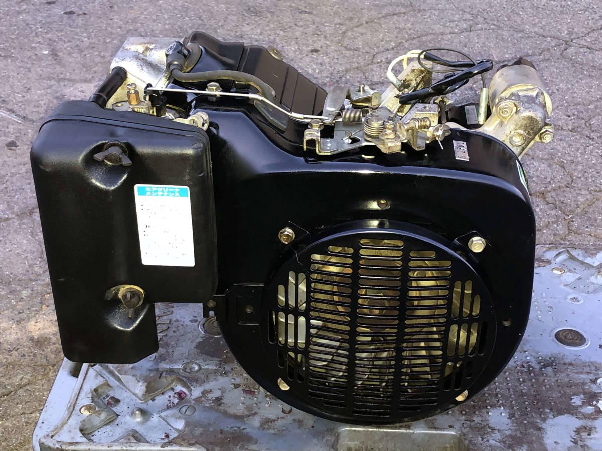 実演動画あり 整備済 極上品 オーレックの運搬車より セル付 カワサキ10馬力 4サイクル OHV エンジン FE290 現物確認 初期不良対応OK