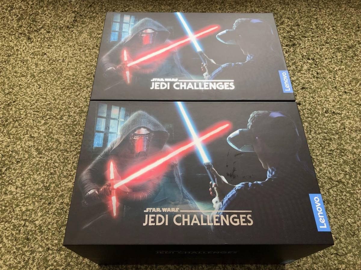 STAR WARS JEDI CHALLENGES ジェダイチャレンジ 2台セット AR・VR ライトセイバー <新品同様>