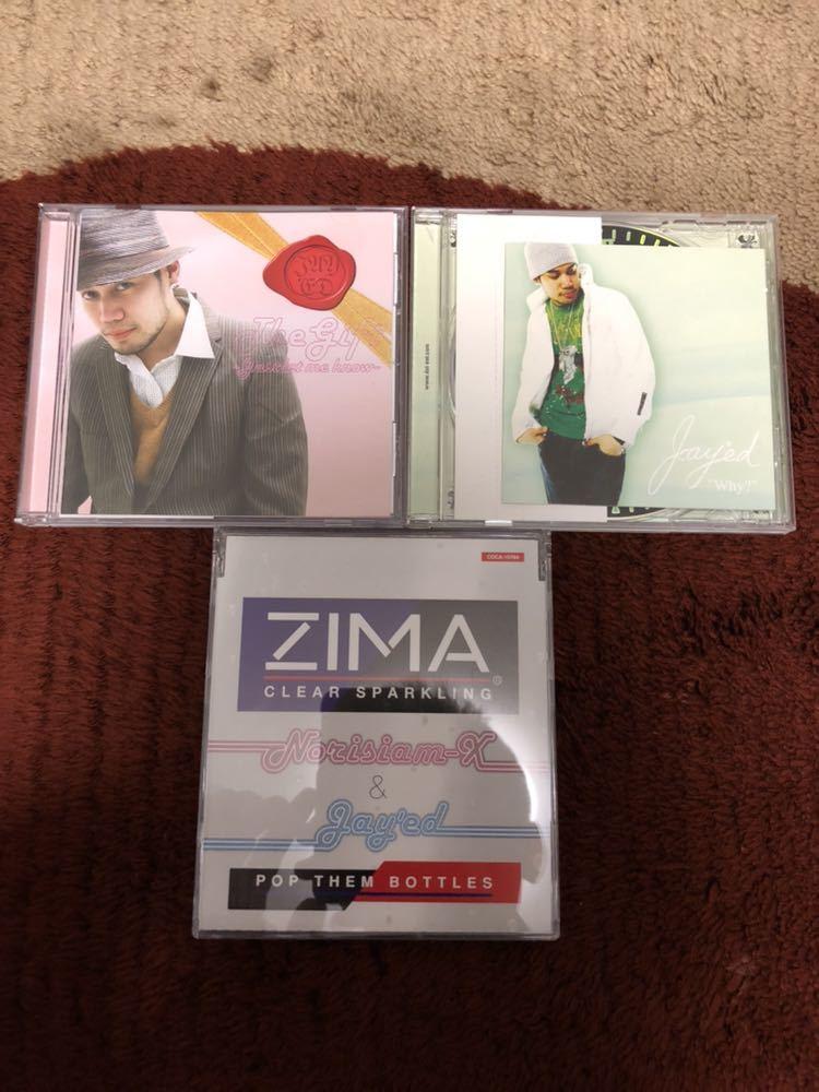 JAY'ED CD3枚セット gift zima ジェイド