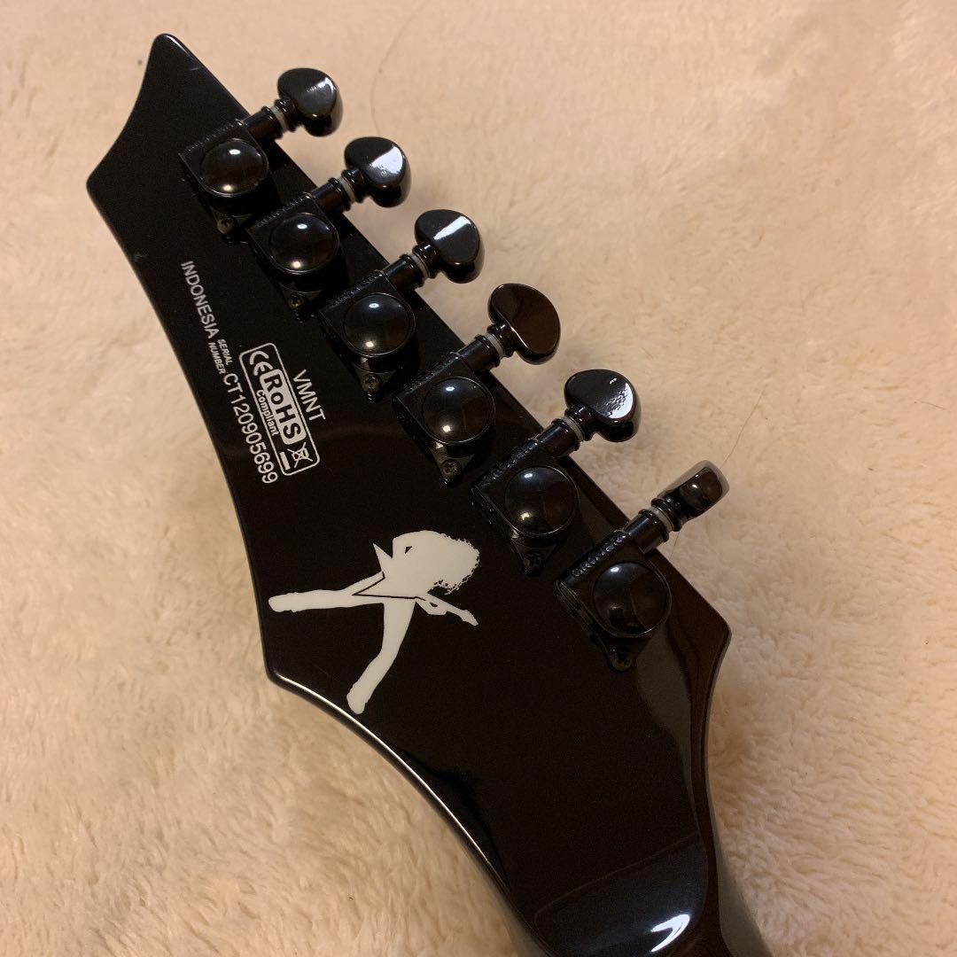 DEAN DAVE MUSTAINE Signature変形ギターブラック_画像8