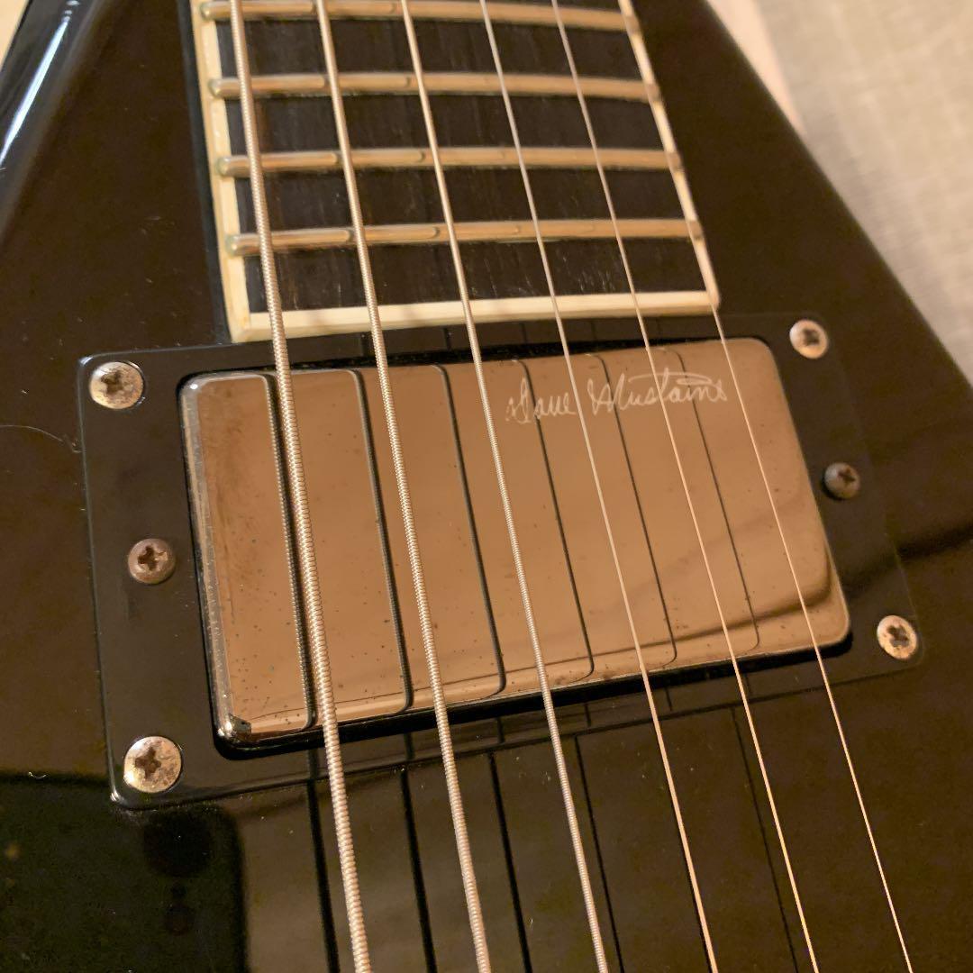 DEAN DAVE MUSTAINE Signature変形ギターブラック_画像6