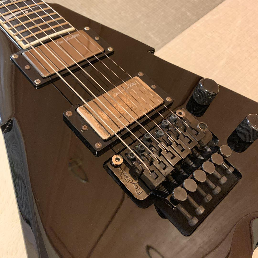 DEAN DAVE MUSTAINE Signature変形ギターブラック_画像5