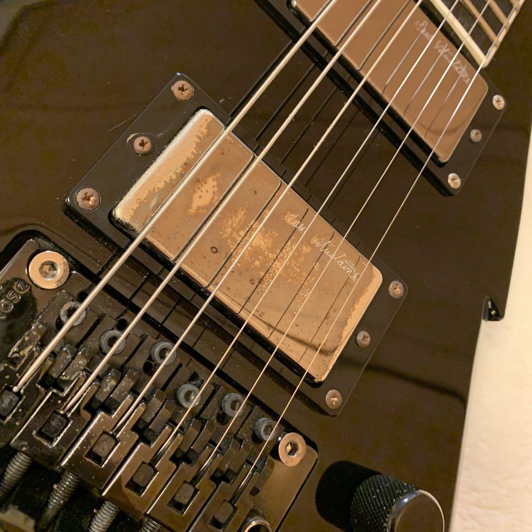DEAN DAVE MUSTAINE Signature変形ギターブラック_画像10
