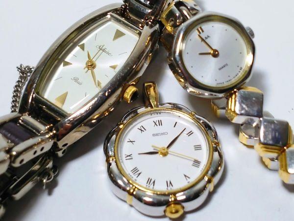 【ジャンク品/まとめ売り⑰】SEIKO&CITIZEN☆ドルチェ・SilverWave・シャリオ・ClubLaMer他☆腕時計20本_画像7