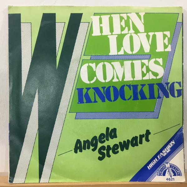 ★Angela Stewart/When Love Comes Knocking★スイートソウル名曲カバーLOVERS!_画像1