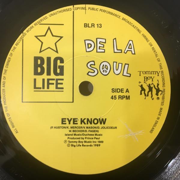 ☆De La Soul/Eye Know☆HIP-HOP CLASSIC!7inch 45_画像2