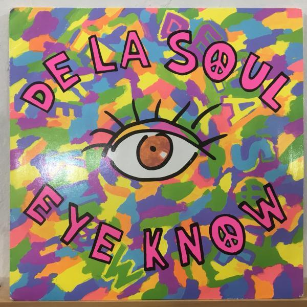 ☆De La Soul/Eye Know☆HIP-HOP CLASSIC!7inch 45