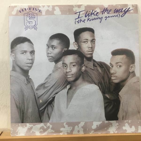 ☆Hi-Five/I Like The Way (The Kissing Game)☆R&B NEW JACK SWING名曲!7inch 45_画像1
