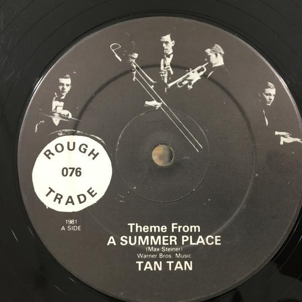 ★Tan Tan/Theme From A Summer Place★気持ちよいTRUMPET INST!_画像2
