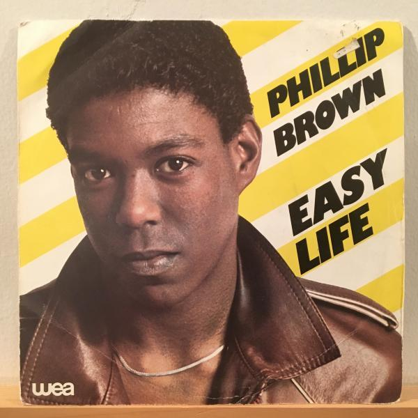 ☆Phillip Brown/Easy Life - Forever You☆メロウFRENCH SOUL!7inch 45_画像1