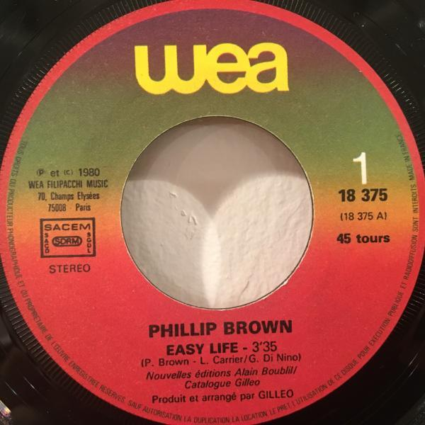 ☆Phillip Brown/Easy Life - Forever You☆メロウFRENCH SOUL!7inch 45_画像3