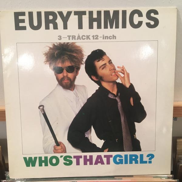 ☆Eurythmics/Who's That Girl?☆KILLER MINIMAL SYNTH!アルバム未収!_画像1
