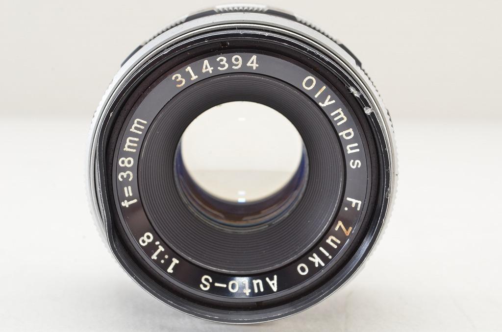 ★訳あり品★OLYMPUS オリンパス F.Zuiko Auto-S 38mm F1.8 PEN Fシリーズ用 190219q_画像3