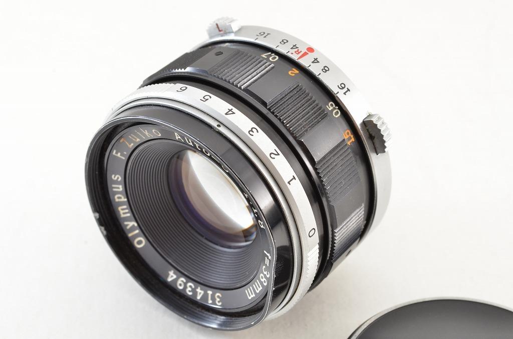 ★訳あり品★OLYMPUS オリンパス F.Zuiko Auto-S 38mm F1.8 PEN Fシリーズ用 190219q_画像6