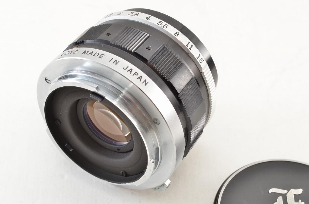 ★訳あり品★OLYMPUS オリンパス F.Zuiko Auto-S 38mm F1.8 PEN Fシリーズ用 190219q_画像2