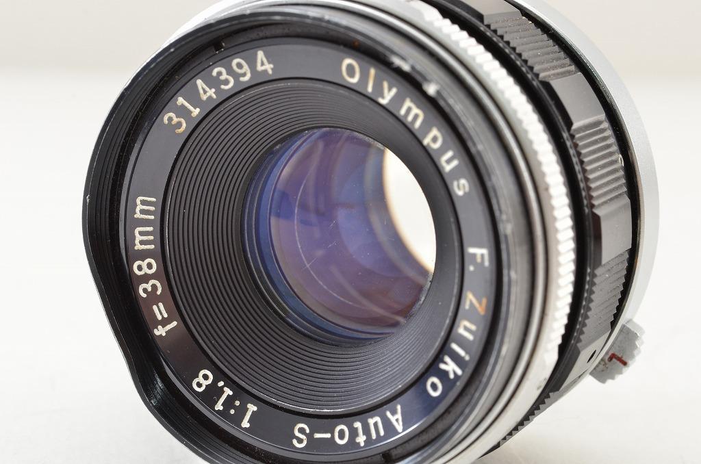 ★訳あり品★OLYMPUS オリンパス F.Zuiko Auto-S 38mm F1.8 PEN Fシリーズ用 190219q_画像5