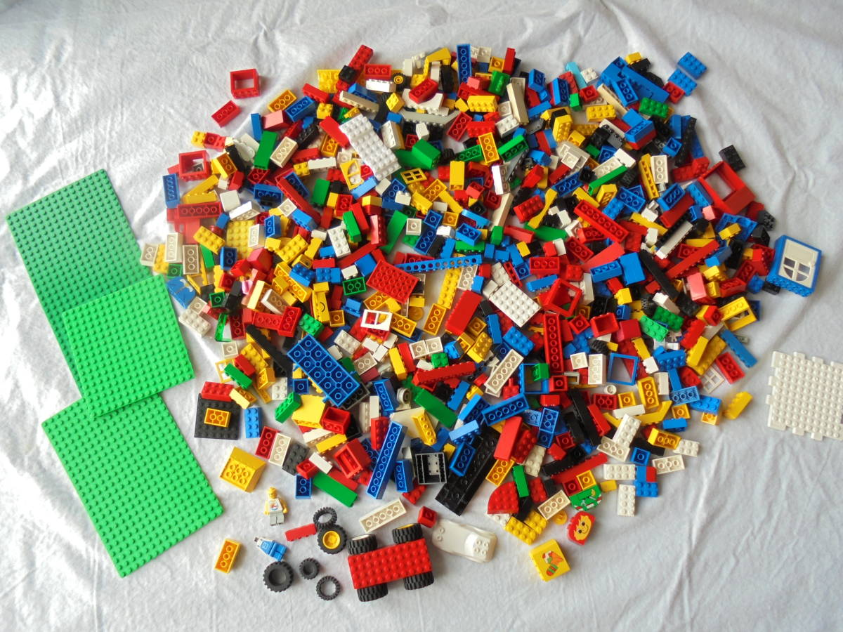 ♪レゴブロックのジャンク品!◆LEGO BLOCK 積木 組み立て 部品