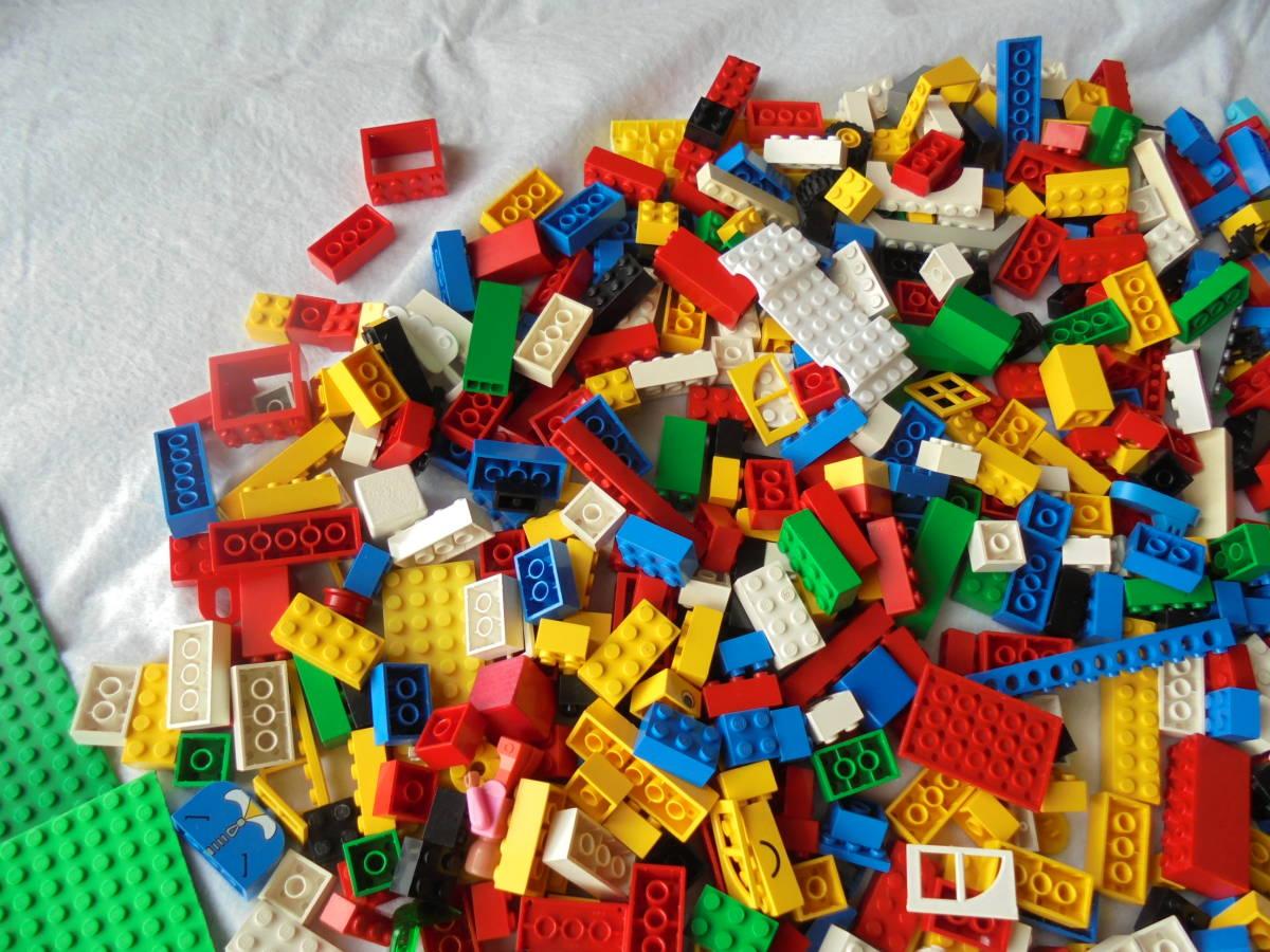 ♪レゴブロックのジャンク品!◆LEGO BLOCK 積木 組み立て 部品 _画像3