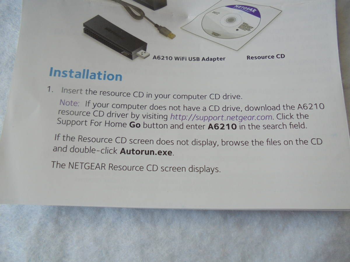 unused goods!NETGEA net gear MODEL=A6210 USB3 0 wireless