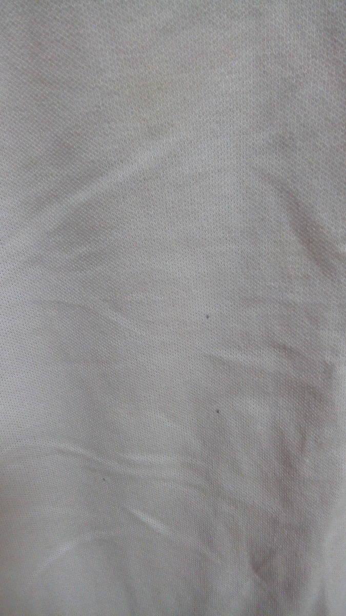 ★XL 訳あり美品 ユニクロ 大きいサイズ(身幅58身丈70)メンズ トップス 半袖ポロシャツ 薄いピンク_画像4