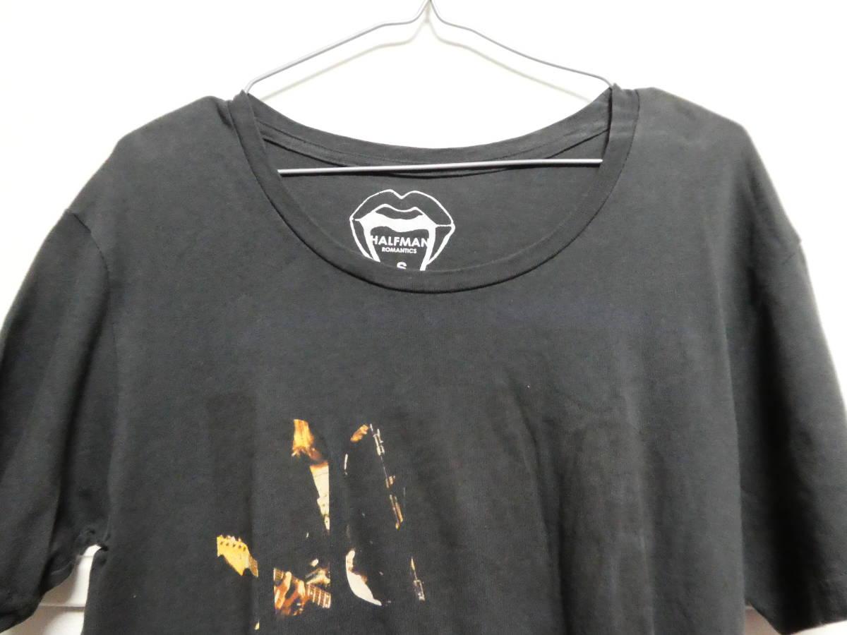 ニルヴァーナ カートコバーン ハーフマンTシャツ ブラック S NIRVANA ヴィンテージバンドT_画像5