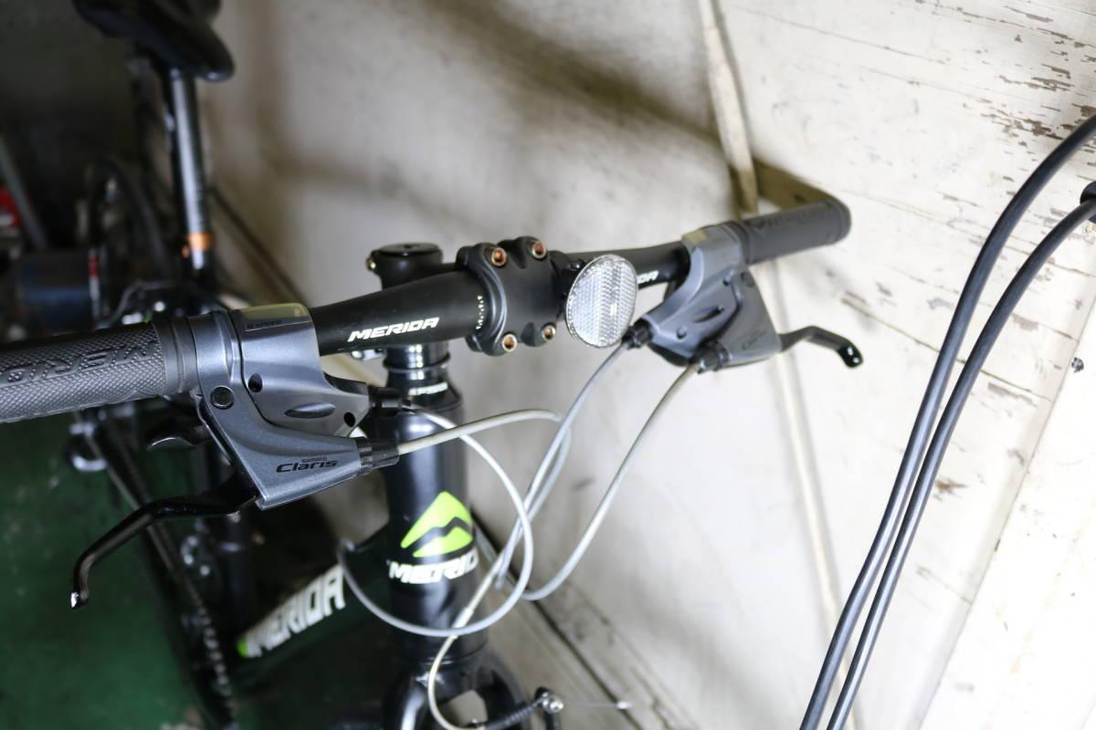 美品!MERIDA CROSSWAY150 700C アルミ CLARIS2X8S(16速) 470mm ロードクロス_画像3