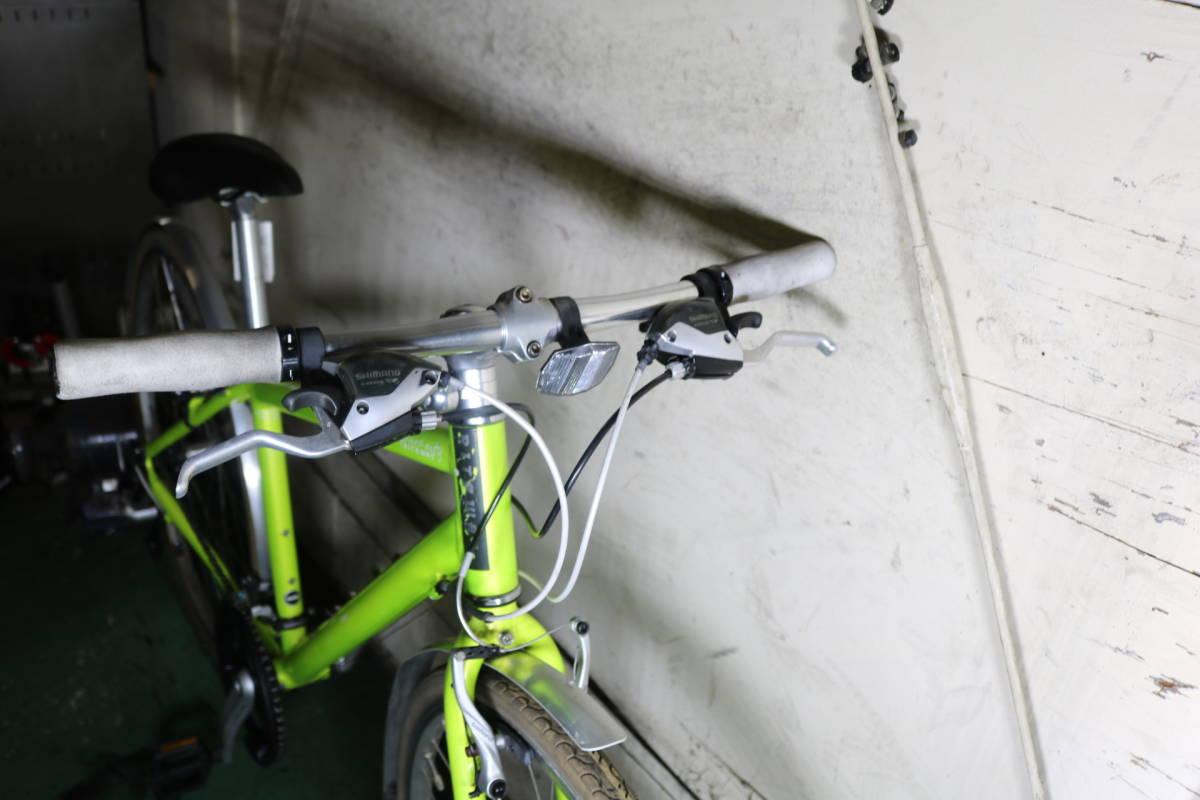 良品!RITEWAY(ライトウェイ) SHEPHERD CITY 700C アルミ24速420mm 新品サドル付き  _画像3