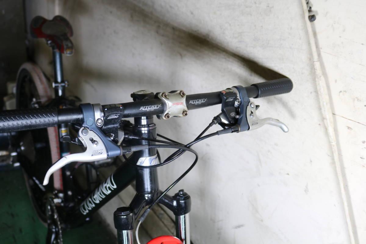 上位MTB!ルイガノLGS-XC AERIAL EASTON LITEフレーム DEORE27速 26インチ450mm ディスクブレーキ対応 _画像3