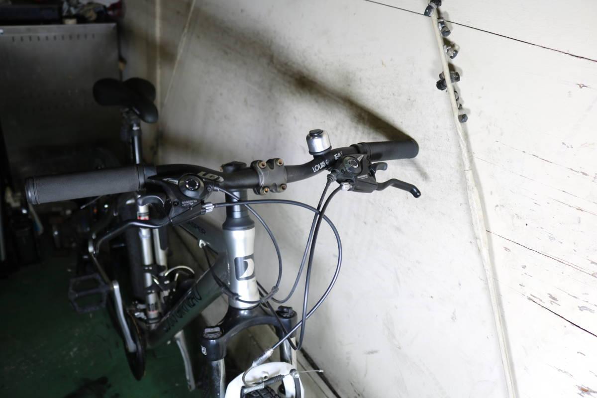 現行美品!ルイガノLGS-CASPER アルミ24速 26インチ 470mm 前サス付き_画像3