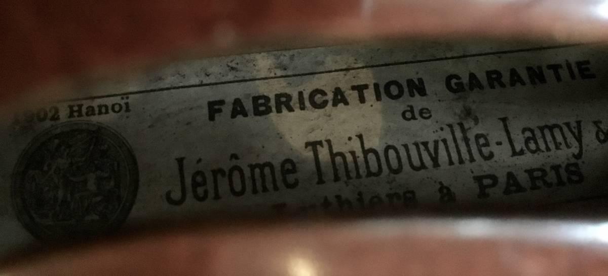 20世紀初頭 Jerome Thibouville Lamy フレンチモダンバイオリン _画像6