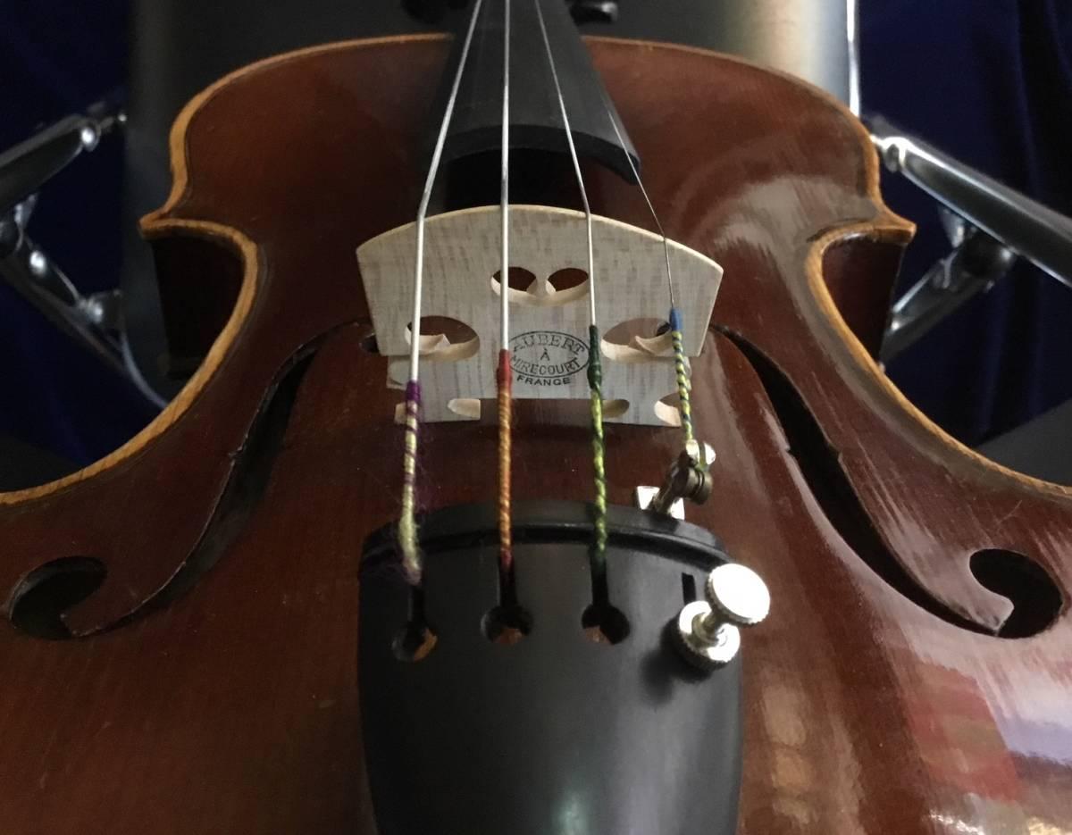 20世紀初頭 Jerome Thibouville Lamy フレンチモダンバイオリン _画像5