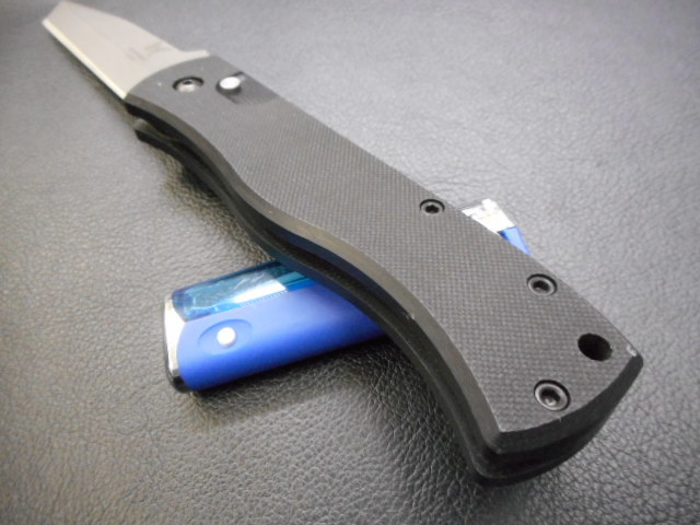 ナイフ 折り畳み ベンチメイド エマーソン デザイン ATS-34 BENCH MADE USA EMERSON DESIGH_画像5