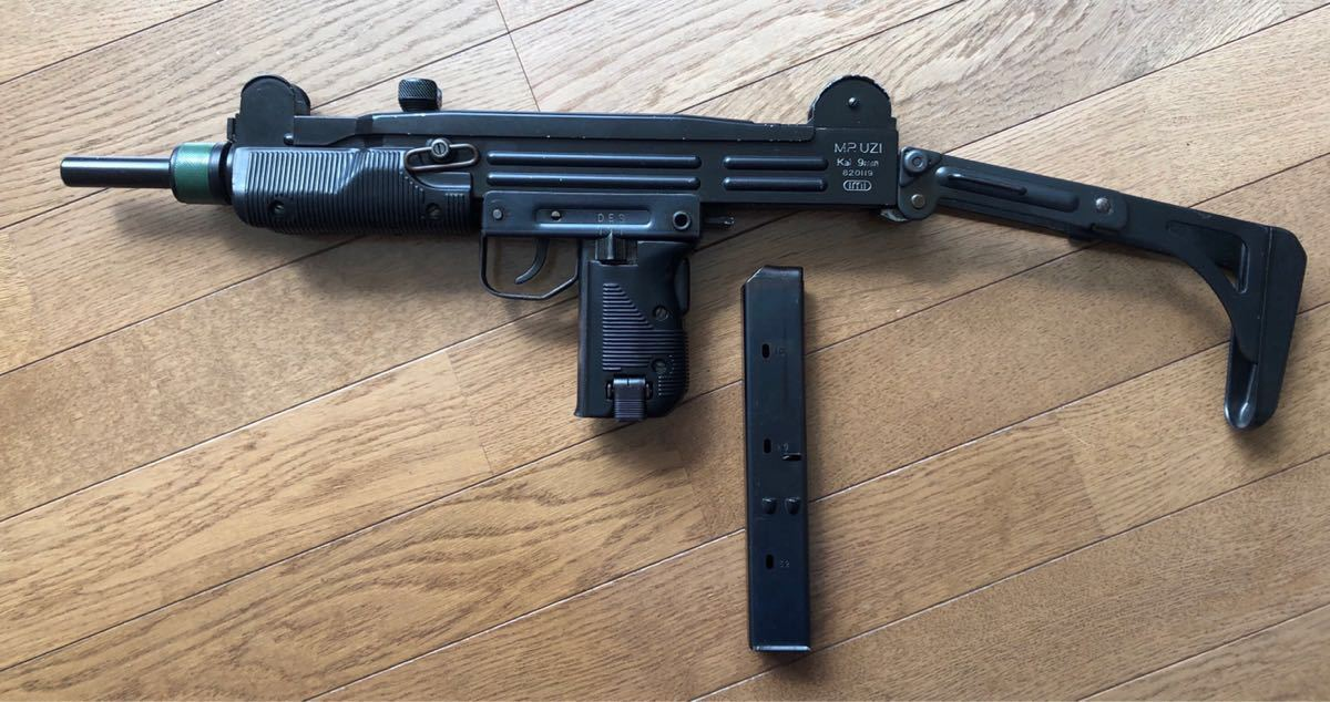 MARUSHIN UZI SMG 1982 4 made used : Real Yahoo auction salling