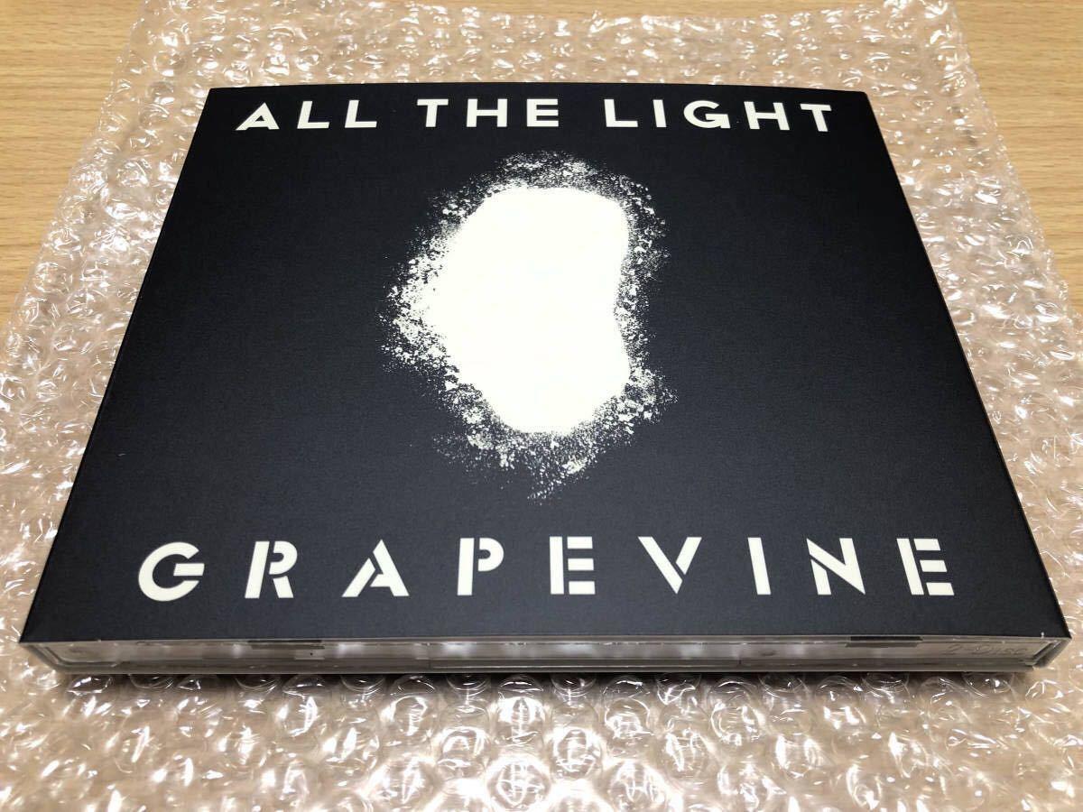 ★送料無料★新品同様★2/6発売 GRAPEVINE ALL THE LIGHT (初回限定盤:CD + DVD) CD+DVD, Limited Edition グレイプバイン