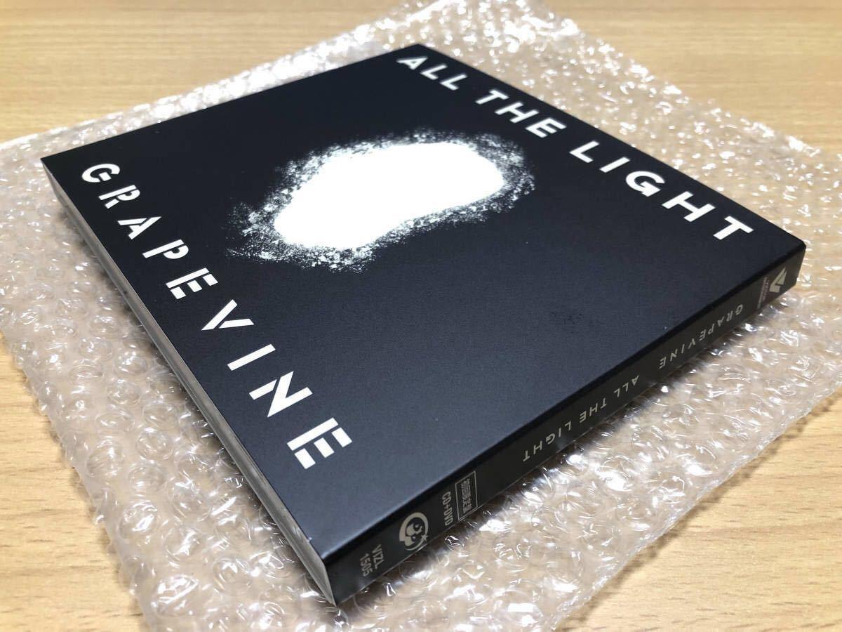 ★送料無料★新品同様★2/6発売 GRAPEVINE ALL THE LIGHT (初回限定盤:CD + DVD) CD+DVD, Limited Edition グレイプバイン_画像3