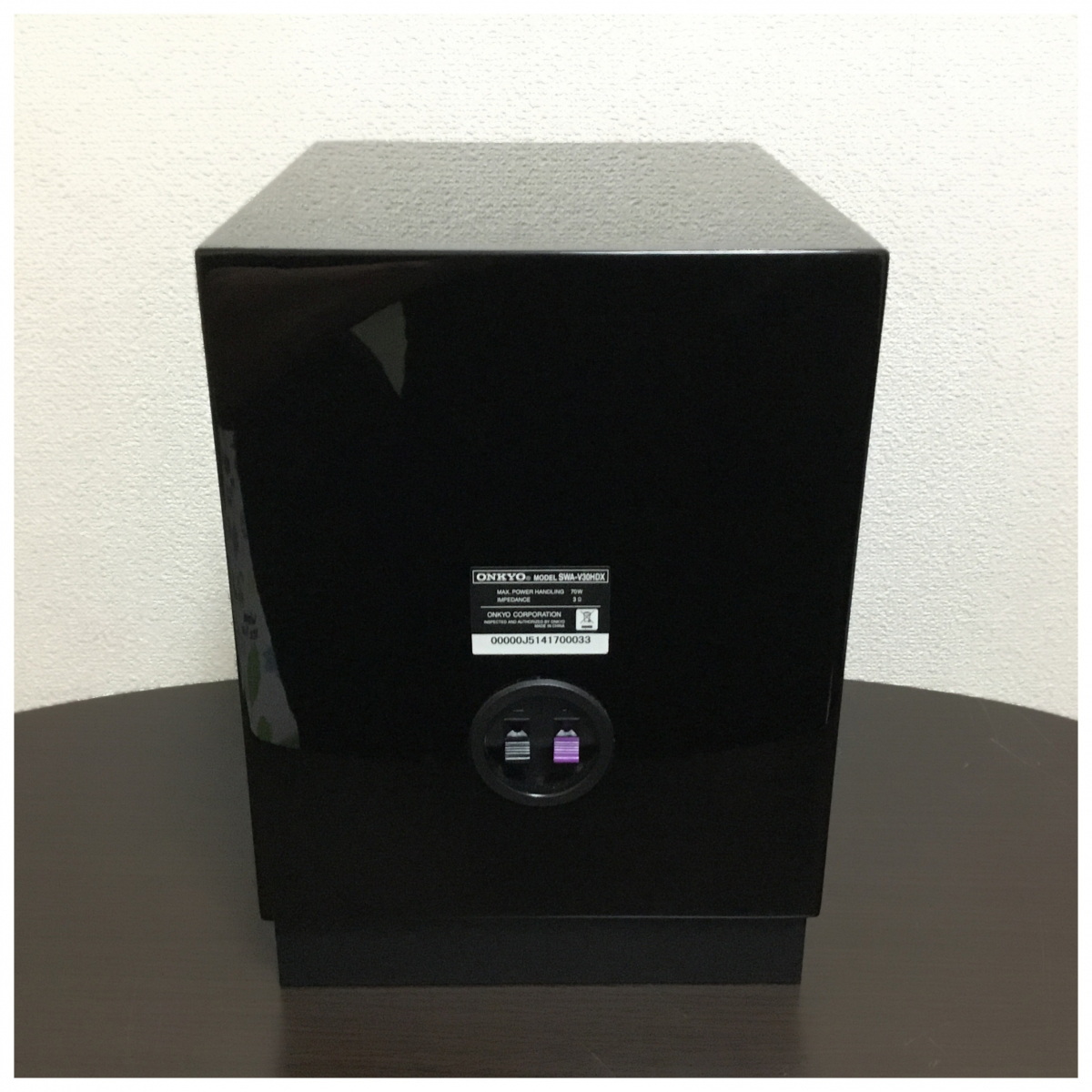 1円スタート!ONKYO オンキョー SA-205HDX ST-V30HDX SWA-V30HDX D-108M D-108C サラウンドセット_画像6