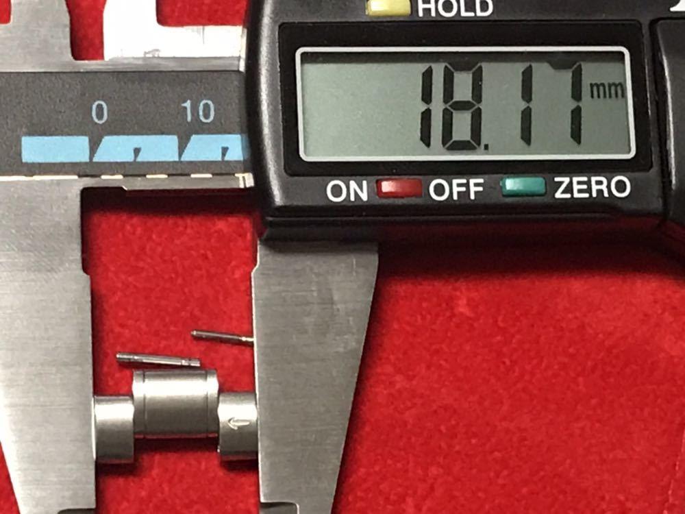 オメガ スピードマスター コマ ブロードアロー 18mm幅 イ-1_画像9