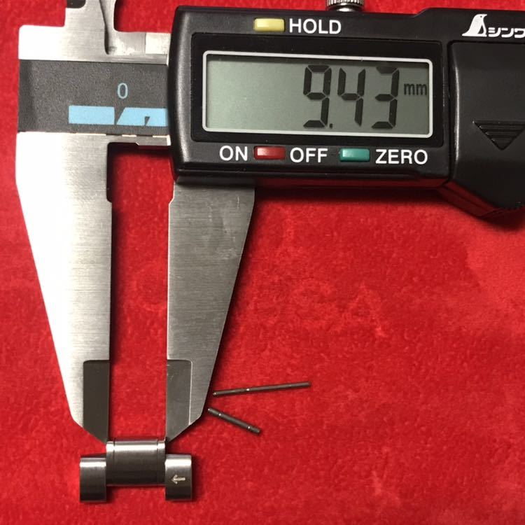 オメガ スピードマスター コマ ブロードアロー 18mm幅 イ-1_画像10