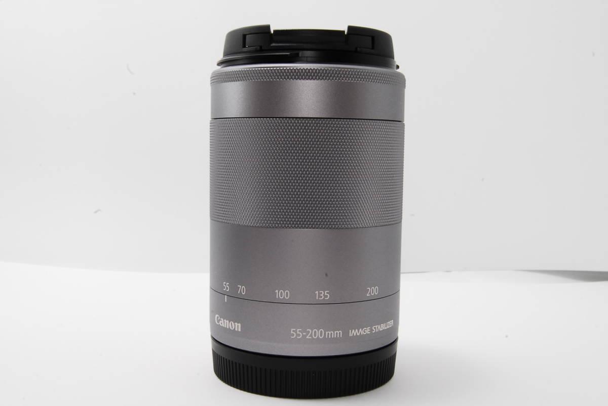 ★新品★CANON EF-M 55-200mm F4.5-6.3 IS STM 望遠レンズ