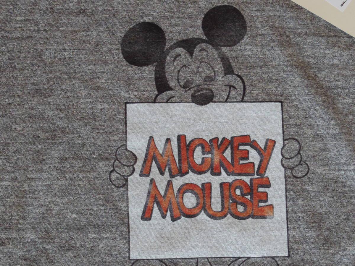 ジャクソンマティス Mickey MouseTシャツ★グレー★L☆\10584_画像2