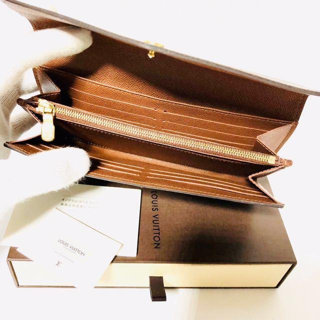 804★ほぼ未使用★最新★ルイヴィトン★二つ折り 長財布 サラ★正規品★_画像3