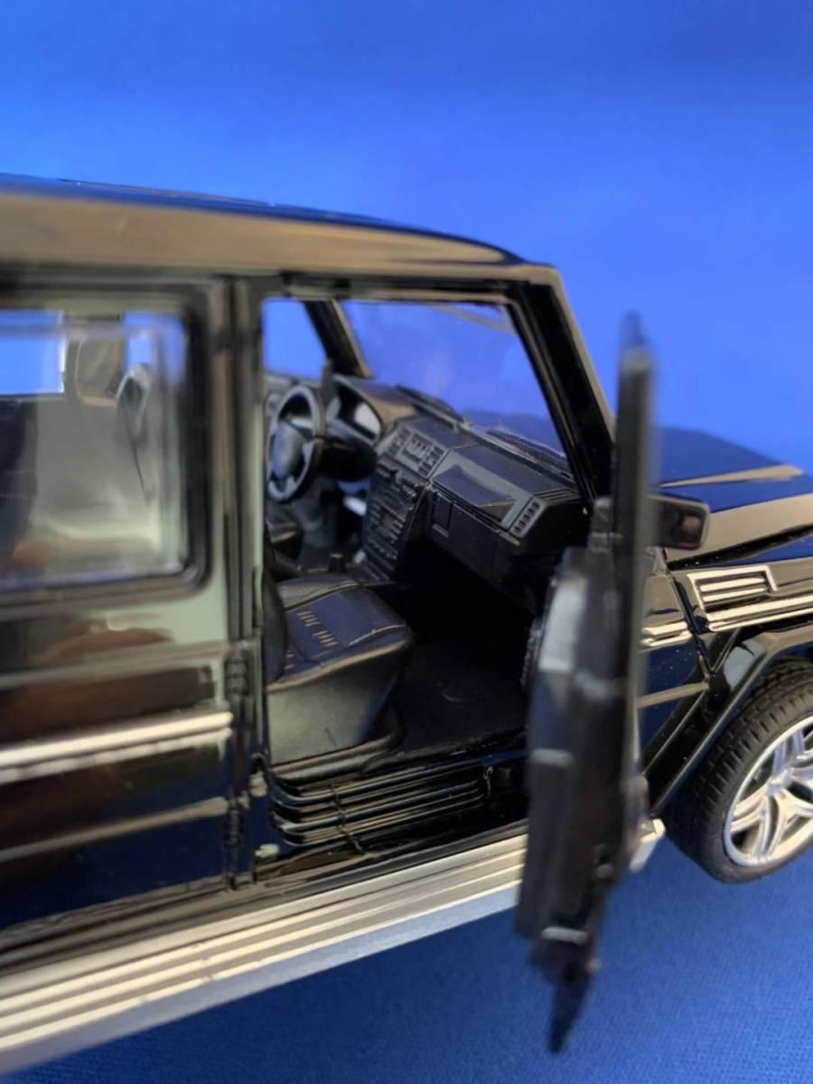 ★新品 AMG G65 ゲレンデ ヴァーゲン 1/32 人気のブラック色 LEDランプ点灯可能 メタルボデイー★★