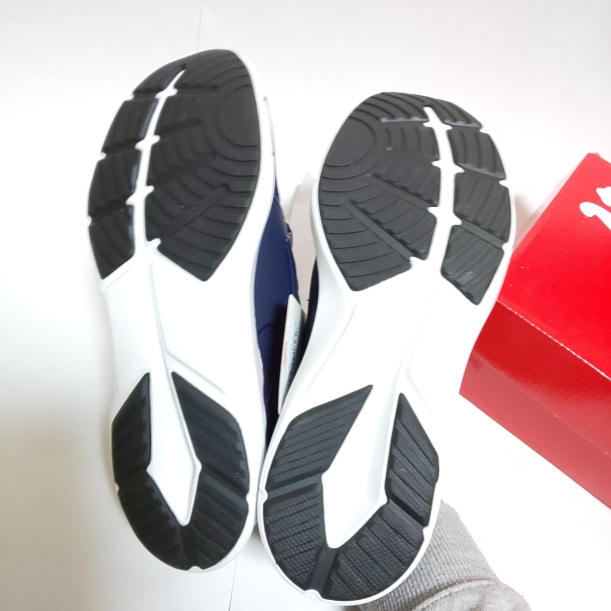 新品 PUMA プロペル XT スニーカー 26.0cm メンズ Peacoat-Puma white ネイビー 運動靴 プーマ_画像6